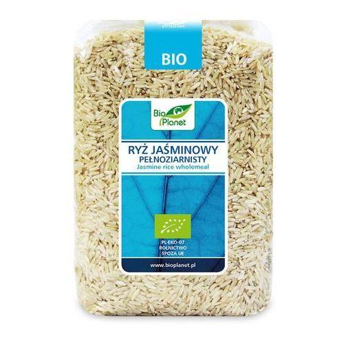 Bio planet - seria niebieska (ryże, kasze, ziarna) Ryż jaśminowy pełnoziarnisty bio 1 kg - bio planet