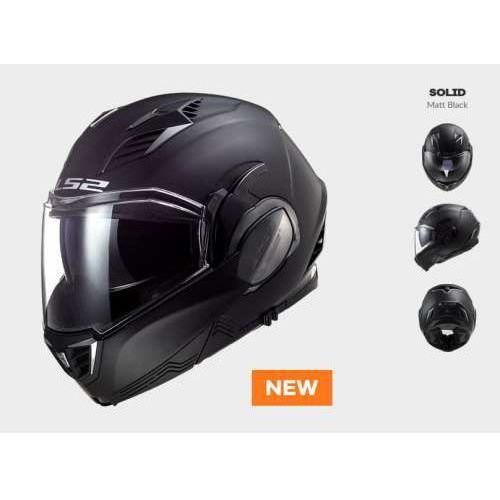 Kask motocyklowy ff900 valiant ii solid matt black marki Ls2