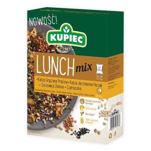 Lunch Mix kasza gryczana, pęczak, soczewica, czarnuszka (kartonik) 4x100g (5906747175788)