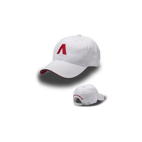 Ammann Biała czapka z daszkiem