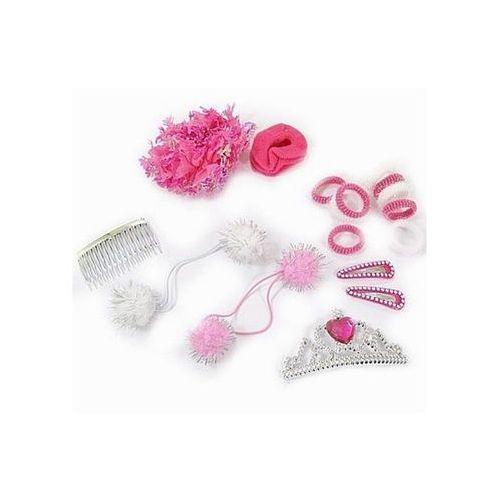 Zestaw akcesoriów do włosów princess - elem. marki Go
