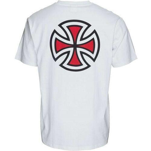 Independent Koszulka - bar cross white (white) rozmiar: xl