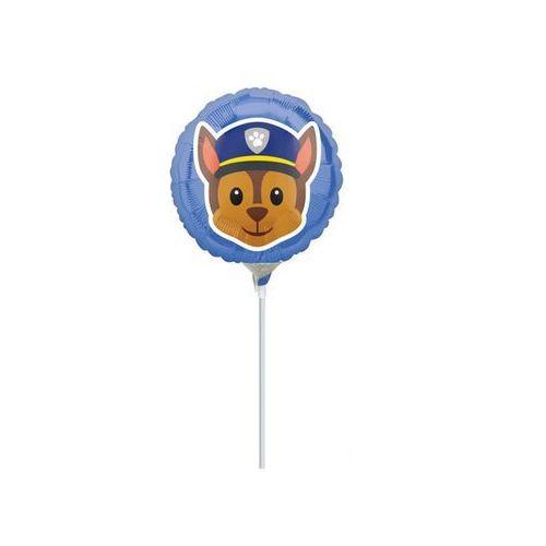 Balon foliowy do patyka Psi Patrol - 23 cm - 1 szt (0026635363709)