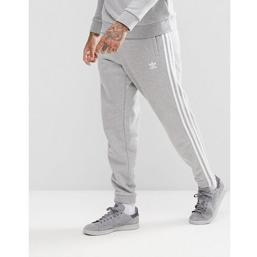adidas Originals adicolor 3-Stripe Joggers In Grey CY4569 - Grey, kolor szary