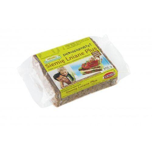 Chleb plus żytni pełnoziarnisty z siemieniem i otrębami 250 g Benus (5900585000158)