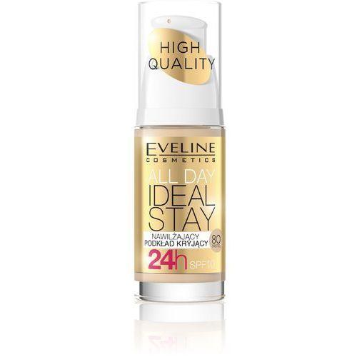 Eveline Podkład nawilżająco-kryjący All Day Ideal Stay nr 80 Pastel 30ml - EVELINE KOLOROWKA