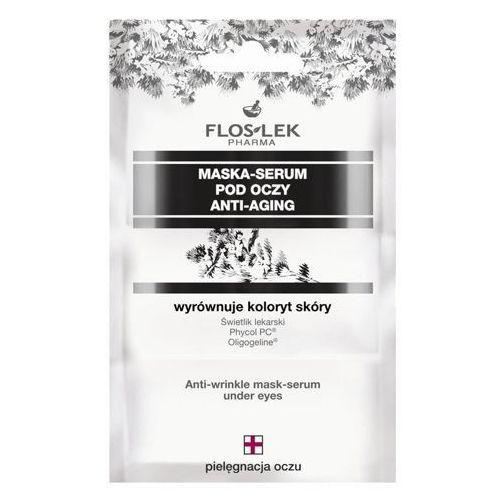 pharma anti-aging maska-serum pod oczy 3 x 2ml saszetka marki Floslek