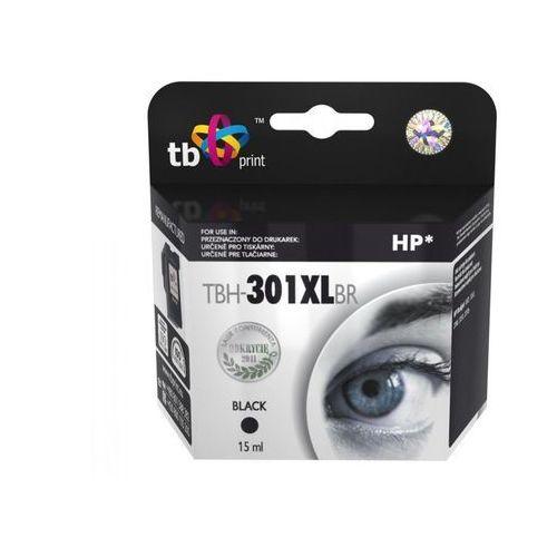 TB Print Tusz do HP DJ1050/2050 Czarny refabrykowany XL TBH-301XLBR, kolor Czarny