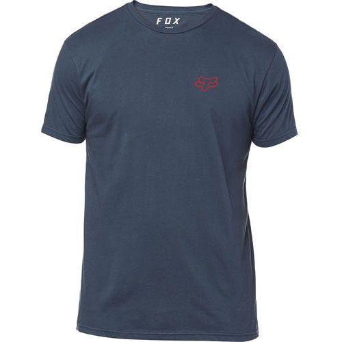 t-shirt męski service premium m ciemny niebieski marki Fox