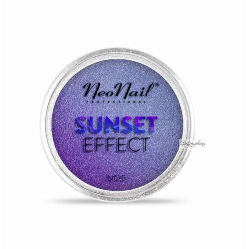 Neonail  - sunset effect - metaliczny pyłek do paznokci - odcienie zachodu słońca - 01