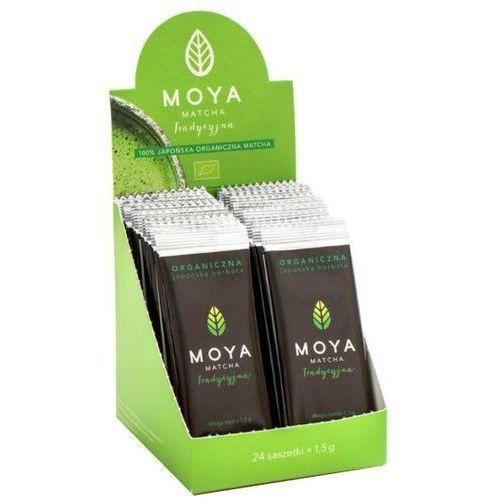 Organiczna Japońska Zielona Herbata Matcha Tradycyjna w Saszetkach 1,5g - MOYA MATCHA