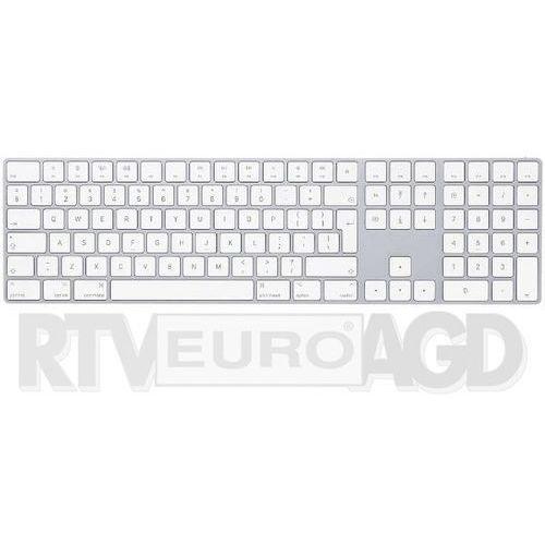 Apple magic keyboard z polem numerycznym - produkt w magazynie - szybka wysyłka!