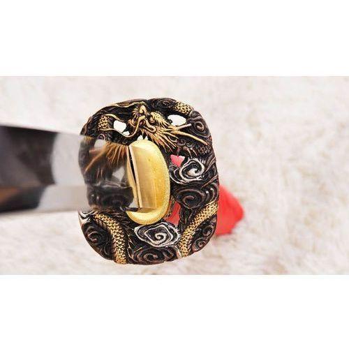 Miecz samurajski katana do treningu, stal wysokowęglowa 1095, hartowana glinką r1006 marki Kuźnia mieczy samurajskich