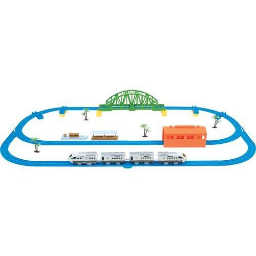 DUMICA HIGH SPEED TRAIN SET / H1 DU20330 Pociąg kolejka zestaw torów DUMEL (6920160203308)