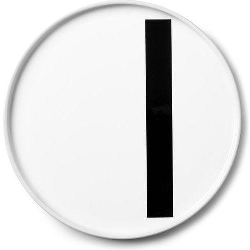 Design letters Talerz porcelanowy aj litera i (5710498720421)