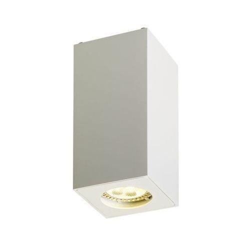Kaspa - Oprawa stropowa natynkowa 13 - Squar - biała - biały