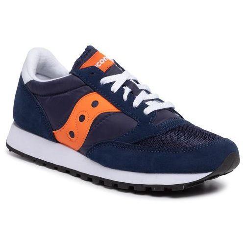 Saucony Sneakersy - jazz original vintage s70368-81 marine/orange