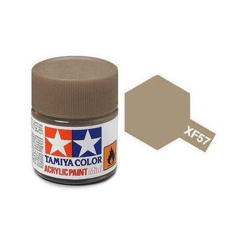 Farba akrylowa - xf57 buff matt / 10ml 81757 marki Tamiya
