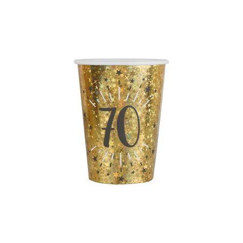 Santex Kubeczki na siedemdziesiąte urodziny 70 sparkling - 250 ml - 10 szt.