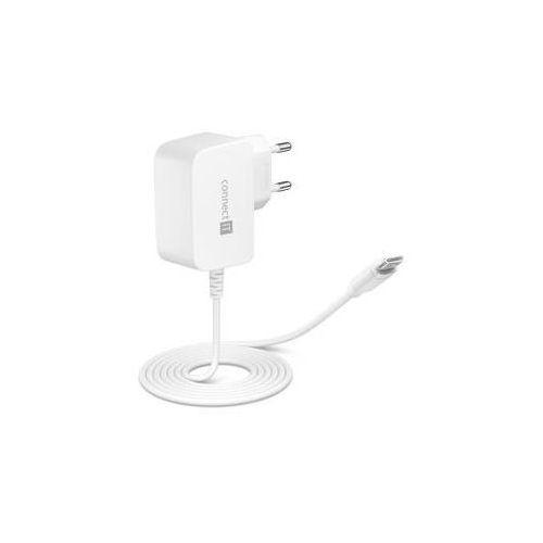Ładowarka do sieci Connect IT inWallz Snake USB-C, 2,4A (CWC-1070-WH) Biały