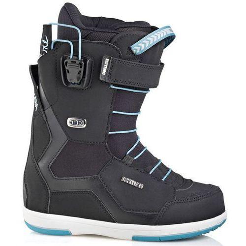 buty snowboardowe DEELUXE - Id 6.2 Lara Cf Black (9110)