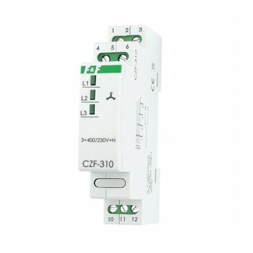Przekaźnik zaniku i asymetrii faz CZF-310 230V max 10A Czujnik styk 1P F&F 3126