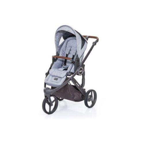 wózek dziecięcy cobra plus graphite grey-graphite grey, stelaż cloud / siedzisko graphite grey marki Abc design