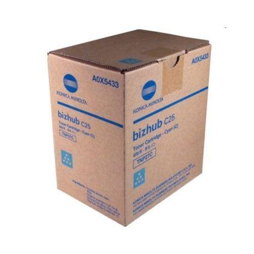 Konica - minolta Toner oryginalny km tnp-27c (a0x5453) (błękitny) - darmowa dostawa w 24h
