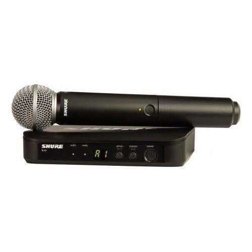 blx24e/sm58 wokalowy system bezprzewodowy z mikrofonem sm58 marki Shure
