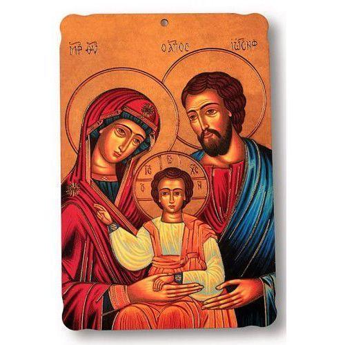 Pamiątka ślubna – obrazek religijny na desce, 09DD-72594