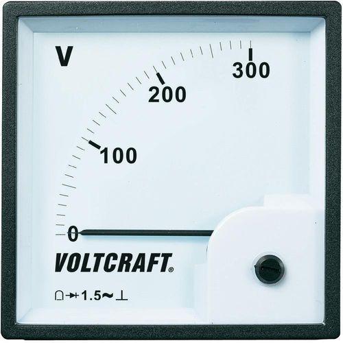 Panelowy wyświetlacz analogowy Voltcraft AM-96x96/300V, AM-96x96/300V