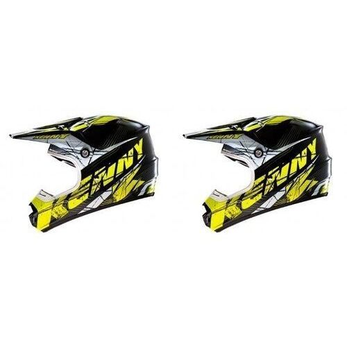 KENNY KASK OFF-ROAD TRACK 14 NEON YELLOW