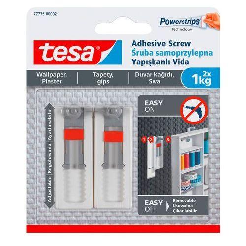 Śruby samoprzylepne Tesa regulowane do tapet udźwig 1 kg 2 szt. (4042448353863)