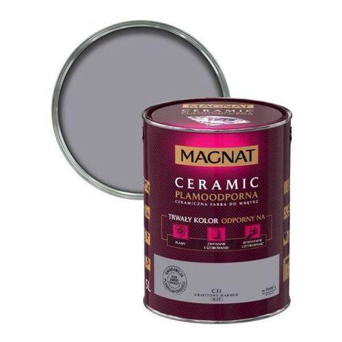 Śnieżka Farba ceramiczna magnat ceramic c31 grafitowy marmur 5l