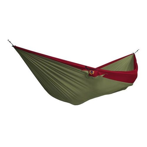 Ticket to the moon Hamak double hammock - szaro-czerwony