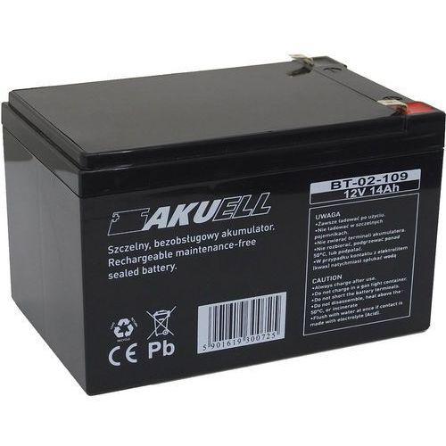 Akumulator 12V 9Ah żelowy AKUELL AGM - produkt z kategorii- Zasilacze do obudów