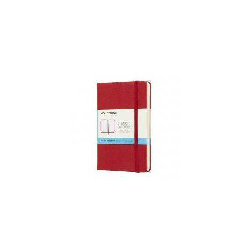 Notatnik Moleskine Classic P kropki, twarda oprawa, czerwony, MOMM713F2