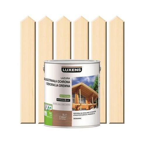 Luxens Lazura do drewna długotrwała ochrona i dekoracja drewna 5 lbezbarwny