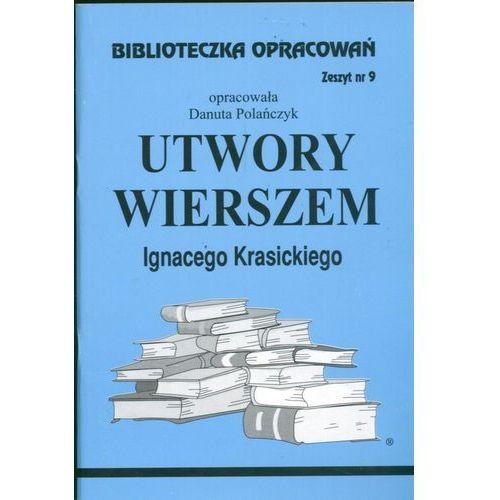 Biblioteczka Opracowań Utwory wierszem Ignacego Krasickiego, oprawa miękka