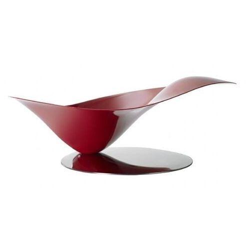 - misa na owoce stalowa na stalowej podstawie - czerwona marki Casa bugatti