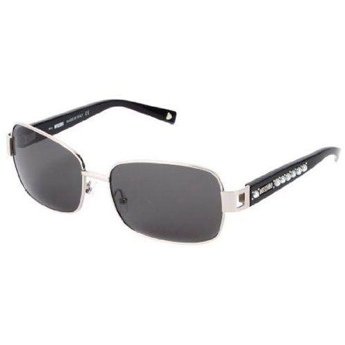 Okulary słoneczne  mo 560/strass 01 marki Moschino
