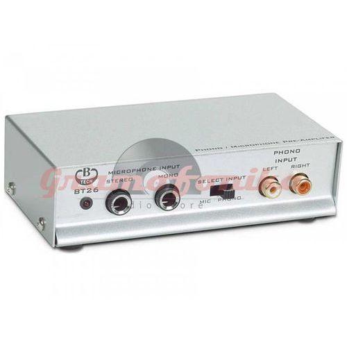 B-tech Przedwzmacniacz gramofonowy bt26