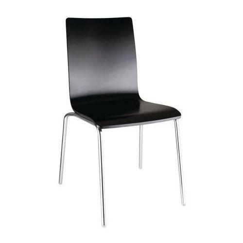 Bolero Krzesło czarne | 4 szt.