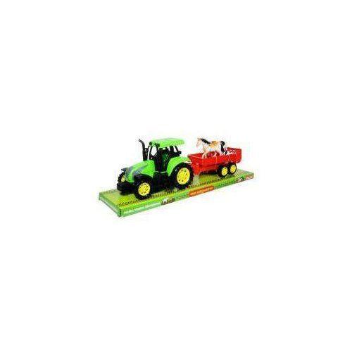 Moje gospodarstwo - Traktor z przyczepą i zwierzętami