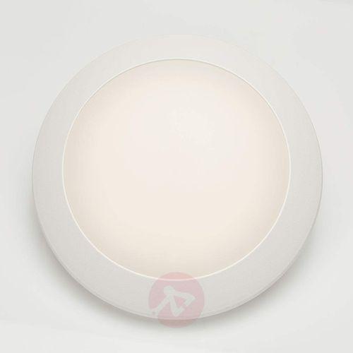 Kinkiet zewnętrzny led berta 11 w, 3 000 k, biały marki Fumagalli