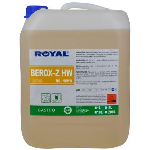 Płyn do zmywarki przemysłowej i gastronomiczne berox z 5 l marki Royal
