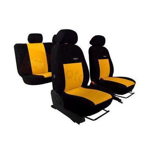 Pokrowce samochodowe elegance żółte skoda octavia ii 2004-2013 - żółty marki Pok-ter