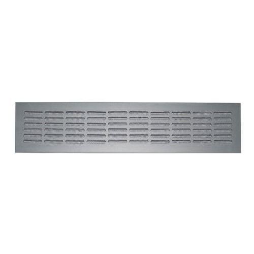 Kratka wentylacyjna z siatką Vents 474 x 80/10-4 aluminium