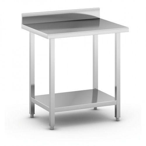 Stół roboczy ze stali nierdzewnej z półką, 800 x 600 x 850 mm