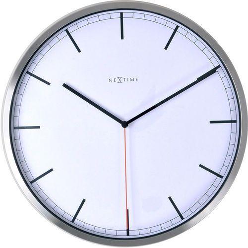 Zegar ścienny Company Index Nextime 35 cm, biały (3071 WI), 3071wi